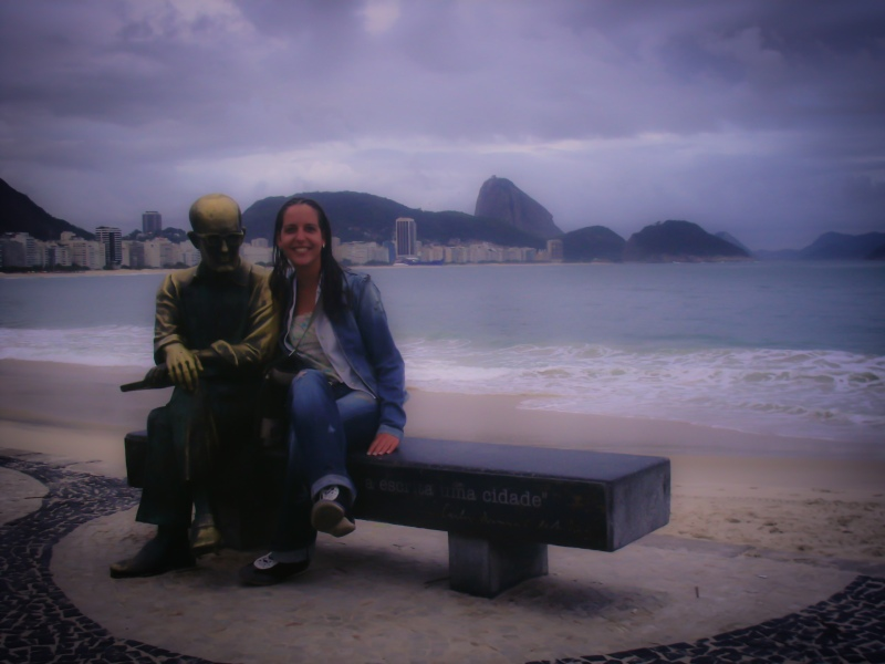Drummond e eu - Copacabana